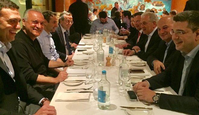 Γαλάζιο δείπνο στη Μάλτα