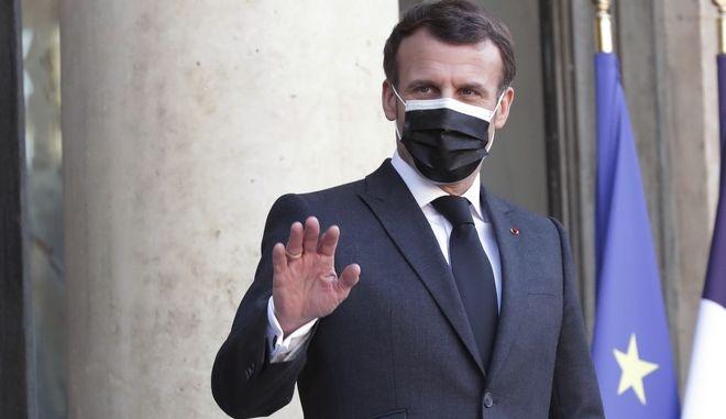 Ο πρόεδρος της Γαλλίας Εμμανουελ Μακρόν