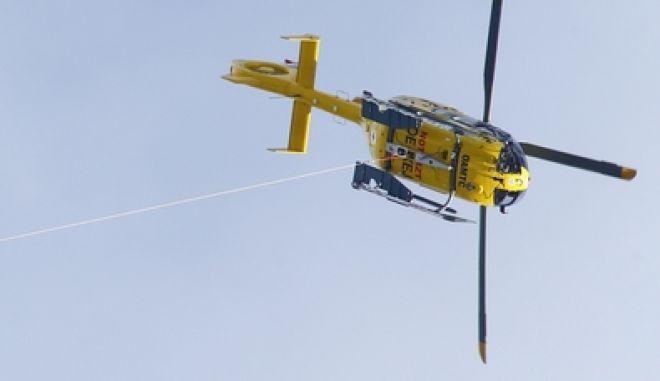 Ελικόπτερο σε αποστολή διάσωσης