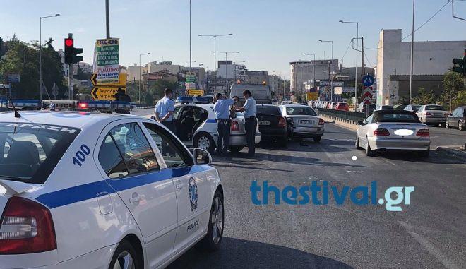 Καταδίωξη διακινητών μεταναστών στη Θεσσαλονίκη