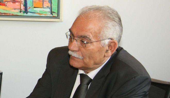 Ο πρώην υπουργός Μανώλης Σκουλάκης.