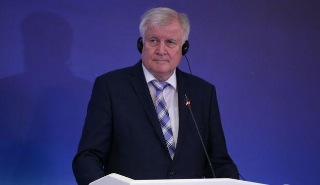 Ο Γερμανός Υπουργός Εσωτερικών Horst Seehofer στην Τουρκία
