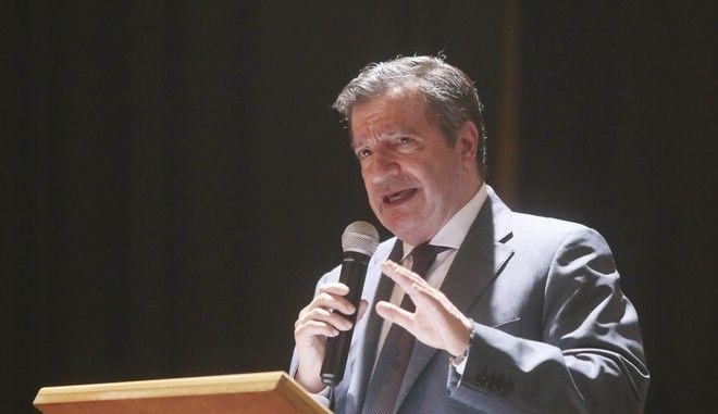 Ο πρώην δήμαρχος Αθηναίων και διεκδικητής υποψηφιότητας για τις ευρωεκλογές Γιώργος Καμίνης