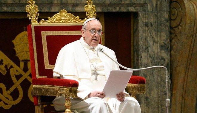 Μήνυμα Πάπα: Κάποιοι δεν θέλουν να αναλάβουν την ευθύνη των προσφύγων