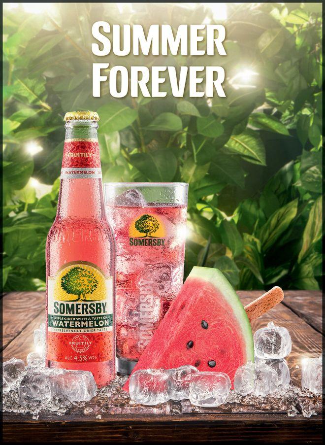Somersby Watermelon: η νέα πρόταση του καλοκαιριού!
