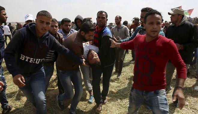 Περισσότεροι από 15 έχασαν τη ζωή τους και 1.400 άνθρωποι τραυματίστηκαν σε μία από τις πιο αιματηρές συγκρούσεις με Ισραηλινούς στρατιώτες, στη Λωρίδα της Γάζας