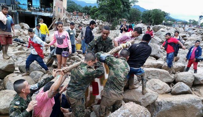Κολομβία: Εκατόμβη νεκρών από κατολίσθηση λάσπης