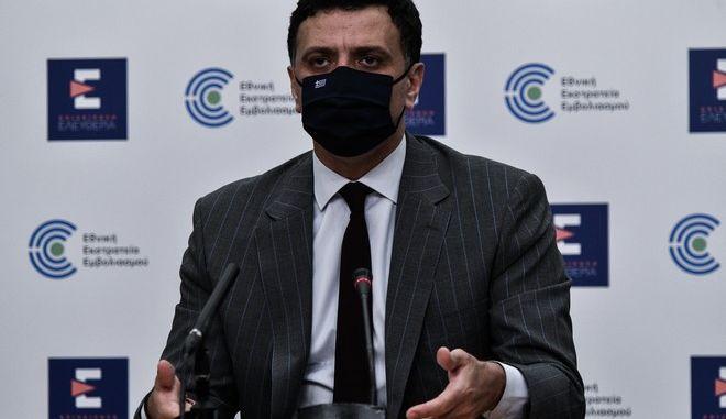 Ο Υπουργός Υγείας Βασίλης Κικίλιας.
