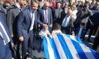 Παρέλαση στα Χανιά: Συνθήματα για την Μακεδονία, παρουσία Μητσοτάκη