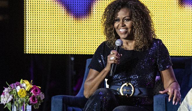 Η Μισέλ Ομπάμα στο μουσικό φεστιβάλ Essence της Νέας Ορλεάνης
