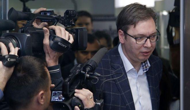 Σερβία: Προβάδισμα Βούτσιτς με 59,79% δίνουν τα πρώτα αποτελέσματα