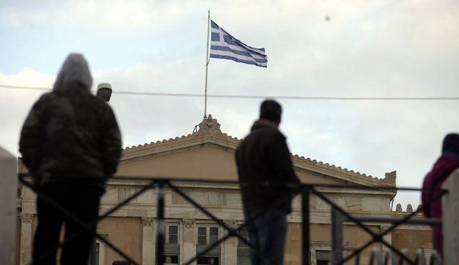 ΑΘΗΝΑ-Συγκέντρωση πολιτών κατά της λιτότητας και των μνημονίων.(EUROKINISSI-ΚΟΝΤΑΡΙΝΗΣ ΓΙΩΡΓΟΣ)