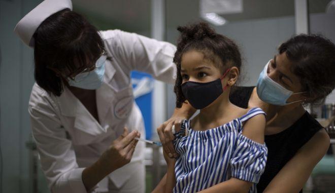 Κούβα: Ξεκινούν εμβολιασμοί νηπίων κατά του κορονοϊού