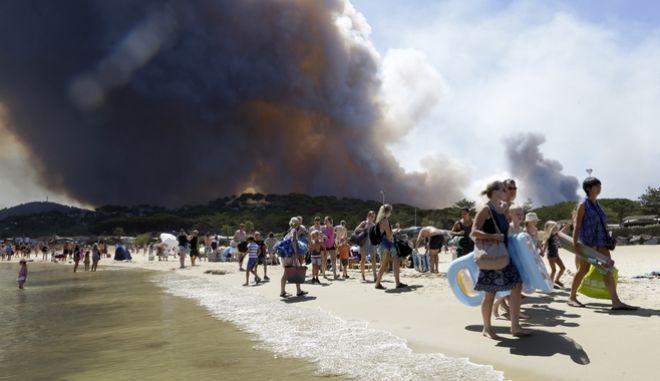 Όλο και πιο συχνές οι απειλητικές φωτιές στην Μεσόγειο