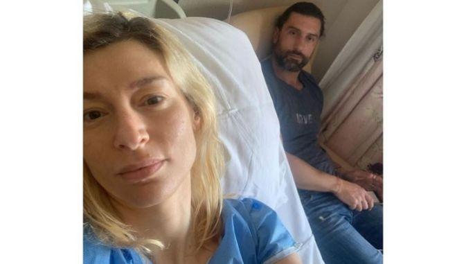 Η δημοφιλής ηθοποιός, Ζέτα Δούκα μέσα από το νοσοκομείο