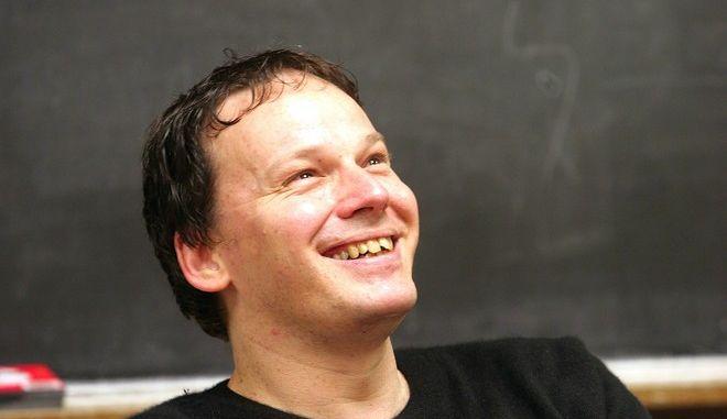 Ο David Graeber τον Οκτώβριο του 2005