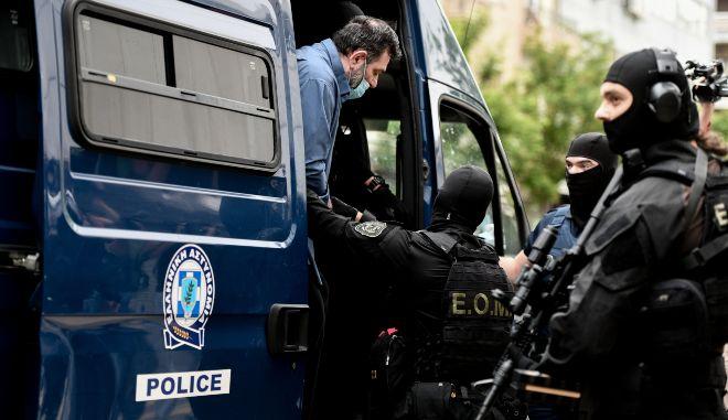 Γιάννης Λαγός: Οδηγήθηκε στον εισαγγελέα - Ζητάει φυλάκιση στον Κορυδαλλό