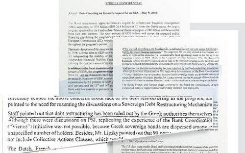 Σάλος από δημοσίευμα: Ο Παπανδρέου αρνήθηκε να κάνει κούρεμα του χρέους το 2010