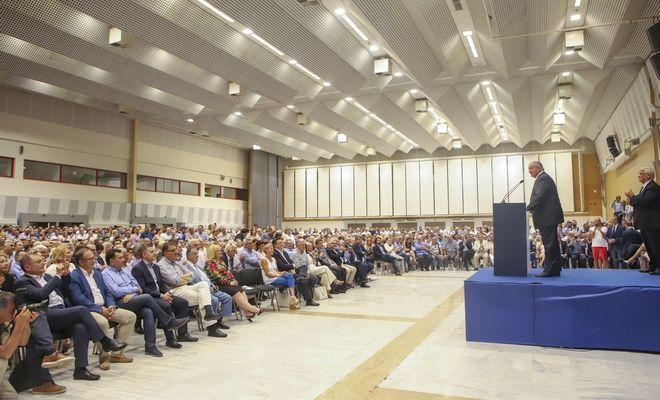 Μήνυμα Καραμανλή στην Τουρκία, καρφί στο ΣΥΡΙΖΑ μέσω Βουκουρεστίου και πρόσκληση για ισχυρή εντολή στη ΝΔ