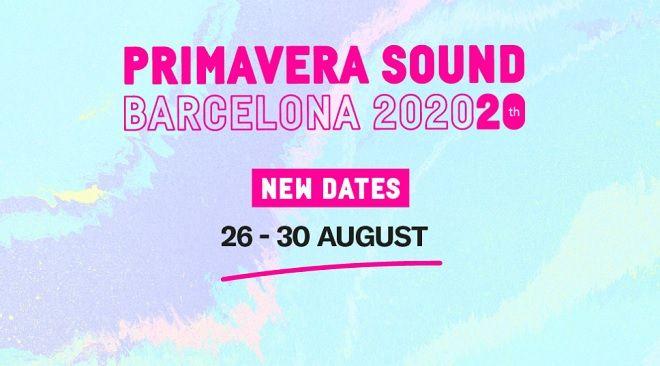 Νέες ημερομηνίες για το Primavera Sound Festival 2020