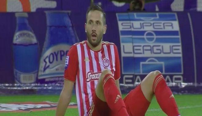Ολυμπιακός - ΠΑΟΚ 0-1: Η διπλή γκάφα Γιαννιώτη - Βούκοβιτς και το αυτογκόλ