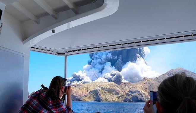 H έκρηξη του ηφαιστείου