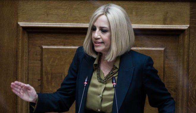 """Φώφη Γεννηματά: """"Η κυβέρνηση έχει χάσει τον έλεγχο"""""""