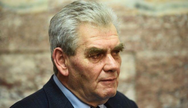 Ο πρώην αναπληρωτής υπουργός Δικαιοσύνης, Δημ. Παπαγγελόπουλος