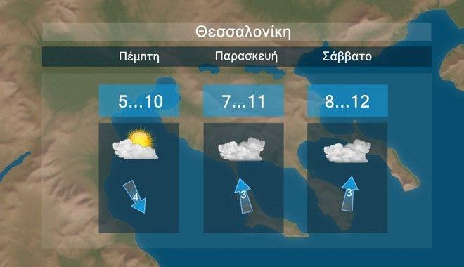 Καιρός: Βροχές και μικρή πτώση της θερμοκρασίας