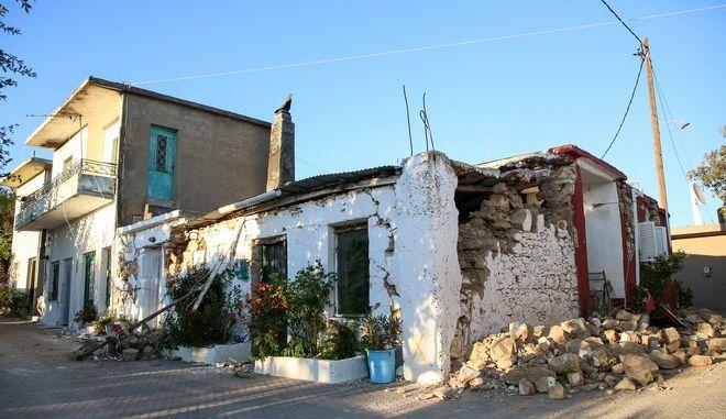 Ζημιές από τον ισχυρό σεισμό στην Κρήτη