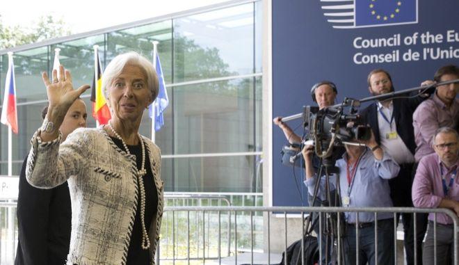Η επικεφαλής του ΔΝΤ Κριστίν Λαγκάρντ