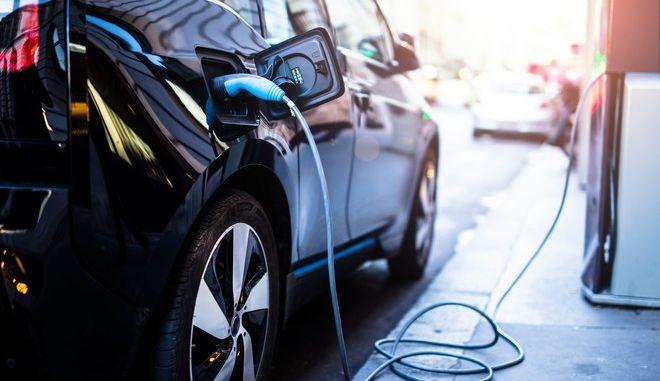 Ηλεκτρικό αυτοκίνητο (φωτογραφία αρχείου)