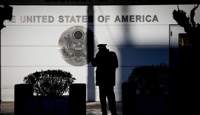 Επίθεση του Ρουβίκωνα στην πρεσβεία των ΗΠΑ