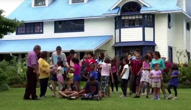 Κόστα Ρίκα: Πέρασαν καραντίνα σε ένα σπίτι με 37 παιδιά!