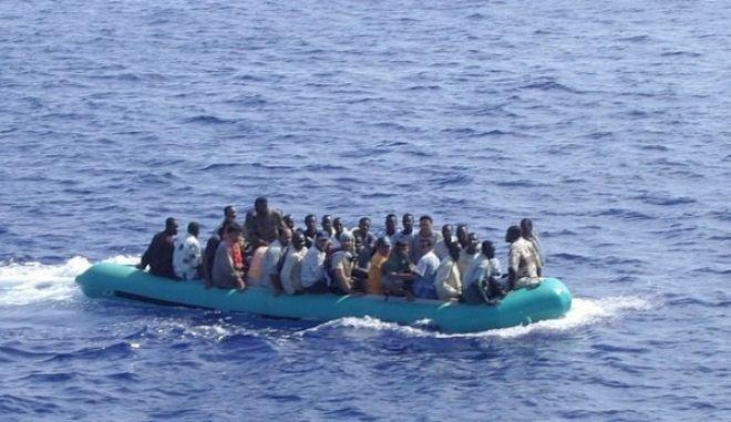 Καταγράφηκε ο μεγαλύτερος αριθμός παράνομων μεταναστών στη Μεσόγειο