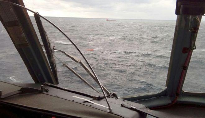 Ναυάγιο πλοίου στη Μαύρη θάλασσα