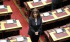 H νέα πρόεδρος της Δημοκρατίας Κατερίνα Σακελλαροπούλου