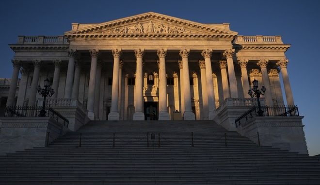 Το κτίριο της Γερουσίας στην Ουάσινγκτον