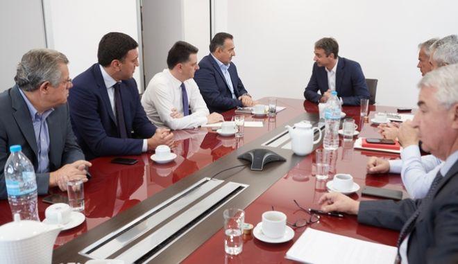 Κυβερνητικές ευθύνες για το Μενίδι βλέπει ο Μητσοτάκης και ζητά μέτρα