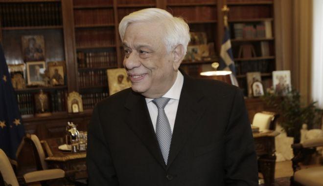 Συνάντηση του ΠτΔ Πρ.Παυλοπούλου με τον κ.Λίνο-Αλέξανδρο Σισιλιάνο, νέο Πρόεδρο του Ευρωπαϊκού Δικαστηρίου των Δικαιωμάτων του Ανθρώπου