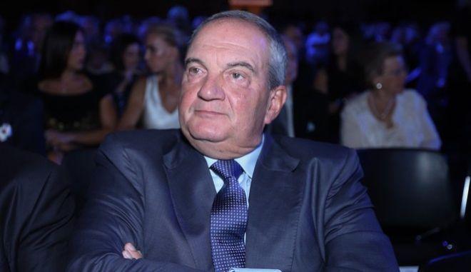 Ο πρώην πρόεδρος της ΝΔ Κώστας Καραμανλής