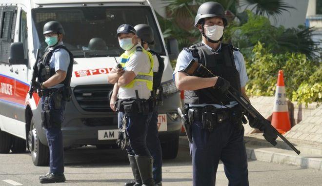 Αστυνομία στην Κίνα (Φωτογραφία αρχείου)