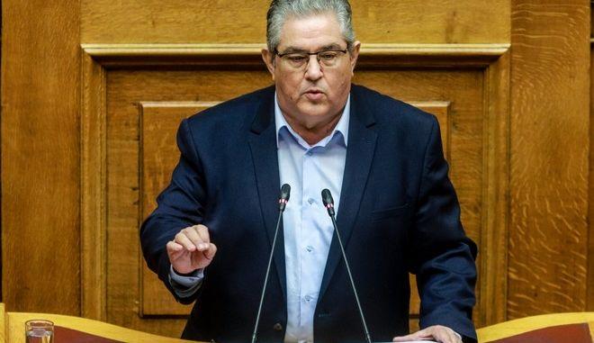 Ο ΓΓ της ΚΕ του ΚΚΕ, Δημήτρης Κουτσούμπας
