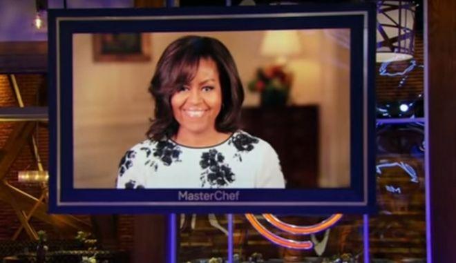 Στο 'Μάστερ σεφ Τζούνιορ' η Μισέλ Ομπάμα μετά τον Λευκό Οίκο
