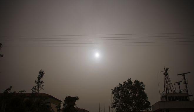 Αφρικανική σκόνη στην Πρέβεζα