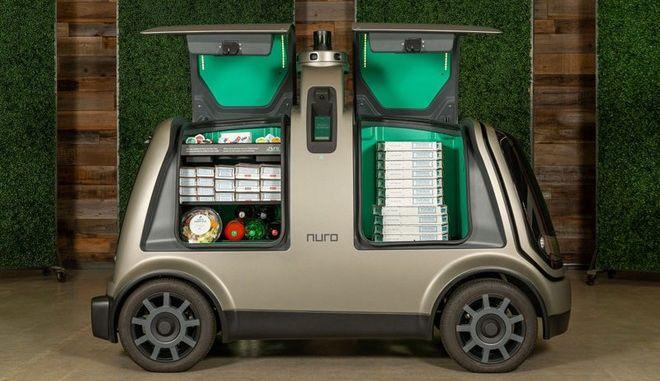 Η Domino's ξεκινά delivery πίτσας με αυτοοδηγούμενα οχήματα στο Χιούστον
