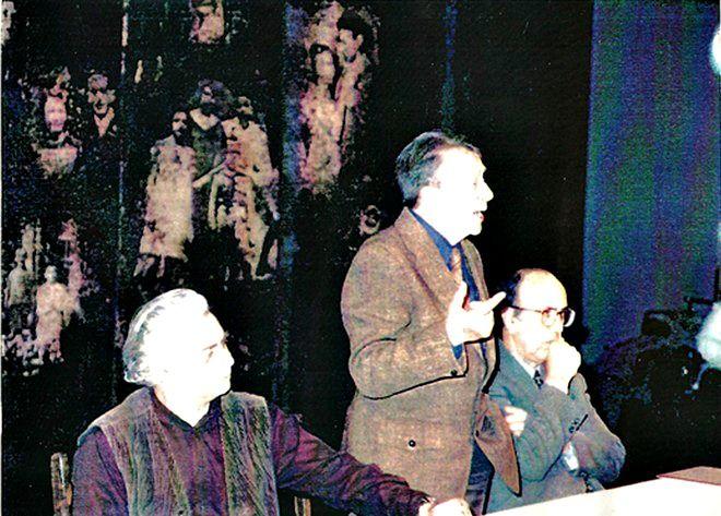 Καραμανλής, Κανελλόπουλος, Κουν: Μια σπάνια ιστορική συνάντηση στο Ηρώδειο