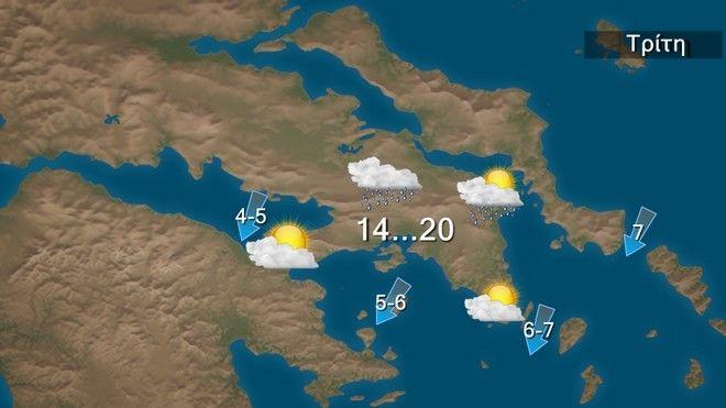 Τοπικά έντονα φαινόμενα σε Δωδεκάνησα και κυρίως την Κρήτη