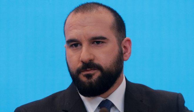 Ο υπουργός Επικρατείας και Κυβερνητικός Εκπρόσωπος, Δημήτρης Τζανακόπουλος