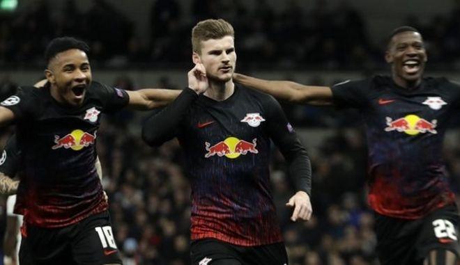 """Τότεναμ - Λειψία 0-1: Μεγάλο προβάδισμα οι """"ταύροι"""" με Βέρνερ"""